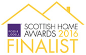 Scottish Home Awards 2016 Finalist logo