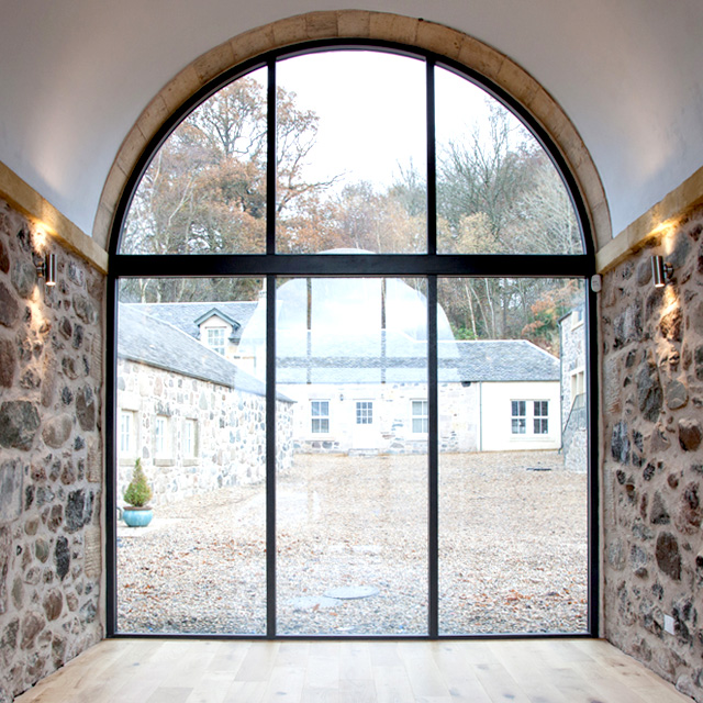 This unique restoration project provides an incredible opportunity to own a stylish, modern home in a brand new rural community in the heart of Central Scotland