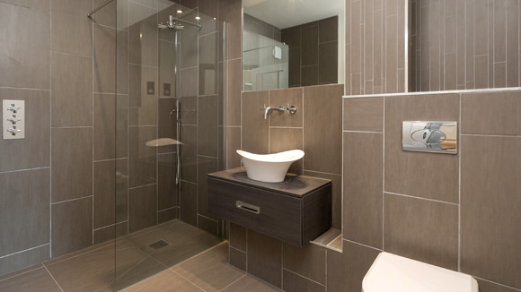 Highest quality materials were used throughout, with Porcelain tiling in the bathrooms.
