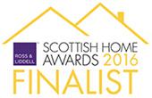 Scottish Home Awards 2016 Finalist logo