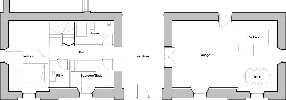 Gartur Stable Ground Floor Plan